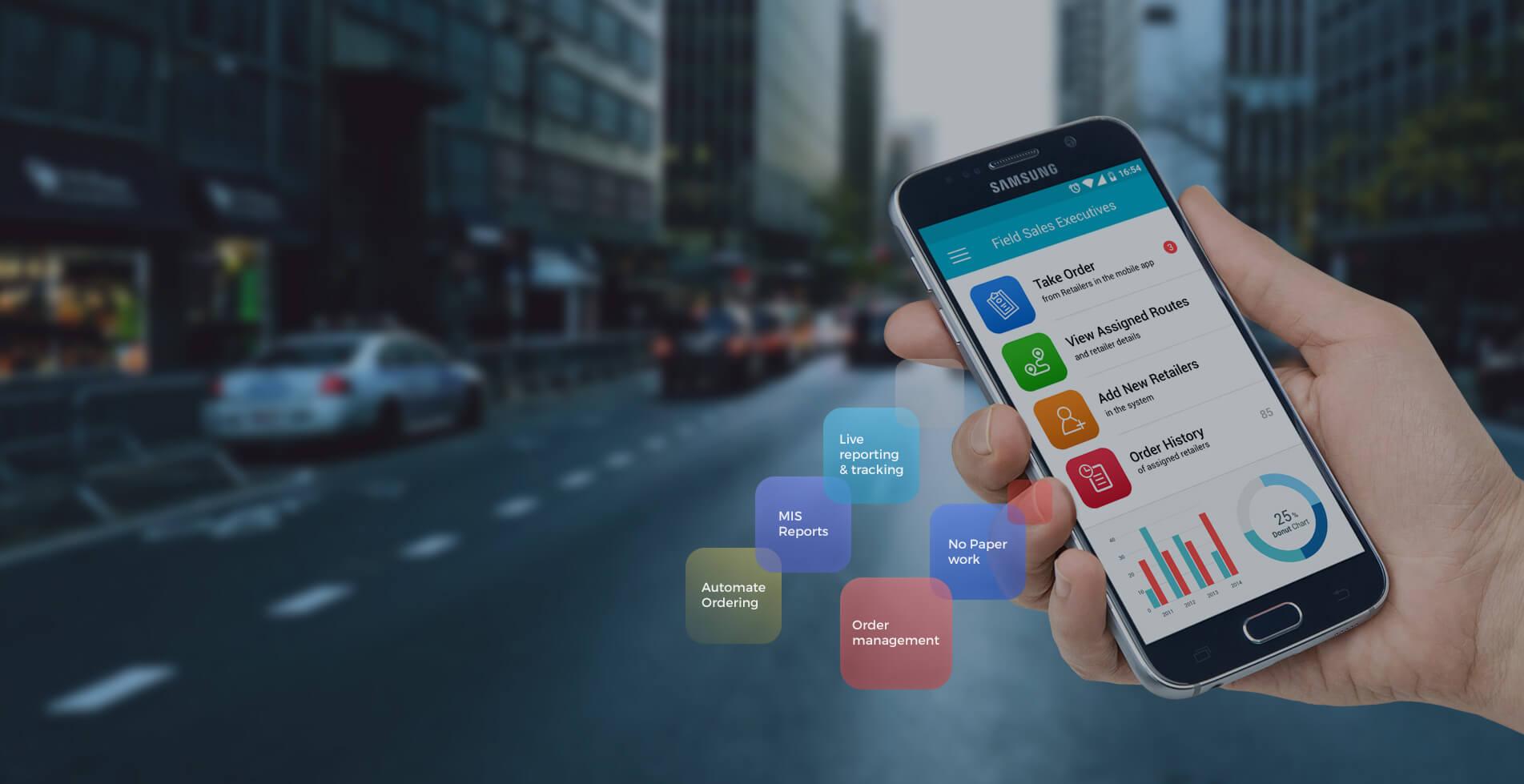 Cygneto Field Sales Management App