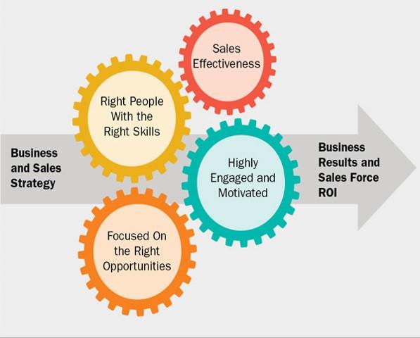 Success factors for managing the sales tam